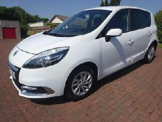 RENAULT SCENIC DYNAMIQUE TOMTOM ENERGY DCI S S White Manual Diesel, 2012