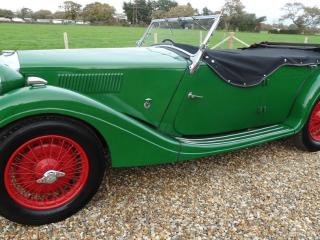 Riley TOURER SPECIAL [pre select gear box] Convertible 1936, 23000 miles, £24500