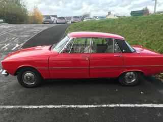 ROVER 2000 P6 ROAD TAX AND MOT EXEMPT