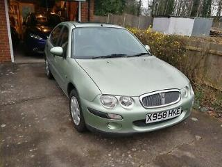 Rover 25 1.8 16V Automatic, 17000 miles only, one owner, totally original