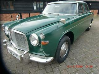 Rover 3 LITRE 1962 BARN FIND rare 3.0 car for sale at barons classic auction