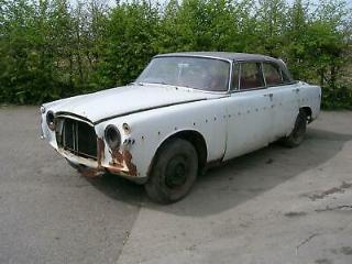 Rover 3 LITRE P5 Coupe Rare Manual Restoration Project