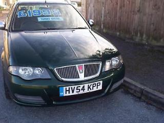 Rover 45 2.0TD 113ps Connoisseur