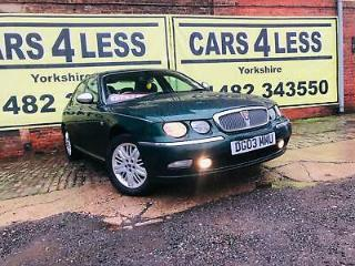 Rover 75 2.5 V6 AUTO Connoisseur SE FULL HEATED LEATHER SEATS NO RIPS OR BURNS