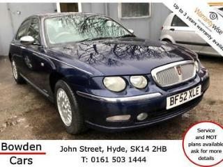 Rover 75 2.5 V6 Connoisseur * Bank Holiday SALE Reduced £200
