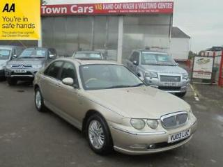 Rover 75 CLUB SE CDT Supply Dealer + 1 Local Lady Owner, ALLOYS, TOW BAR
