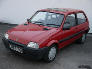 ROVER MG METRO 1.1 S RED 3 DOOR FUTURE CLASSIC COLLECTORS CAR ONLY £795 BE QUICK