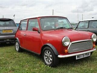 rover mini mayfair 1275 spi 1995. classic mini project