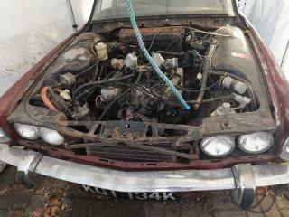 Rover P6, Restoration Project, 1 Previous Owner