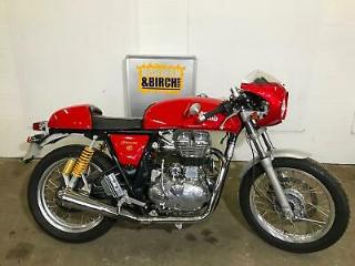 Royal Enfield Continental GT 2015, Red, low miles, Finance