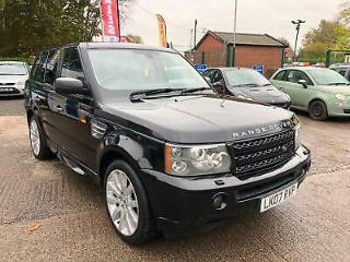 R/ROVER SPORT 4.2 V8 SUPERCHARGED HSE AUTO SAT NAV LEATHER