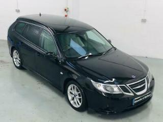 SAAB 9 3 1.9 DTH VECTOR SPORT 5DR AUTOMATIC ESTATE DIESEL LEATHER FULL SAAB S/H