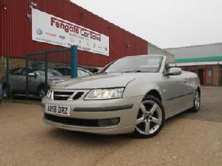 Saab 9 3 1.9TiD 150bhp 2006 Vector 78k FSH 7 STAMPS LEATHER A/C