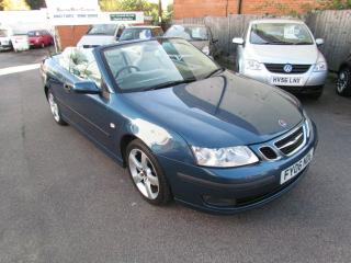 Saab 9 3 2.0t 2006 Vector convertible WITH LEATHER PETROL