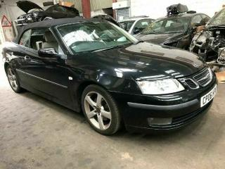 SAAB 9 3 93 VECTOR 1.9 TiD CONVERTIBLE DIESEL AUTOMATIC FULL LEATHER CAT N