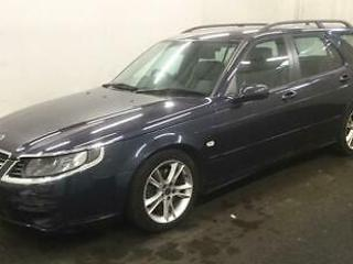 SAAB 9 5 2.3 HOT AERO AUTOMATIC ESTATE 2007>CLEARANCE PRICE OFFER>VERY QUICK CAR