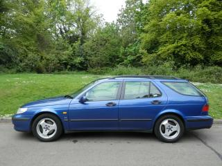 SAAB 9 5 SE ESTATE. AUTOMATIC. LEATHER. 2 OWNERS. FSH