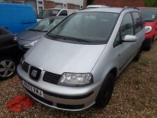 Seat Alhambra 2.0TDI 2008 Reference 7 SEATER NEW MOT