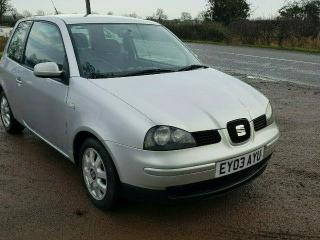 Seat Arosa 1.0 8v 2003. Very Tidy. Ideal first car, very economical. not VW Lupo