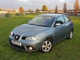 Seat Ibiza 1.2 12v 2007MY Reference 12 MONTHS MOT 2 KEYS IDEAL FIRST CAR