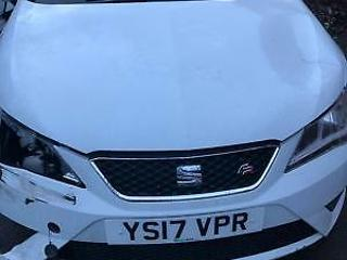 Seat Ibiza 1.2 TSI 110ps 2017 FR. CAT B. STARTS & DRIVES. 16 K ON CLOCK. EXPORT