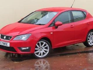 SEAT IBIZA 1.2 TSI FR 2013 13 5DR WITH ONLY 28,400 MILES
