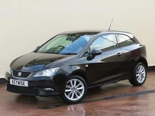 SEAT IBIZA 1.4 16V SPORTCOUPE TOCA 2015 65 WITH ONLY 42,057 MILES