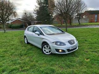Seat Leon 1.6TDI CR 105ps 2011MY Ecomotive S Copa £20 TAX YEARLY SERVICE HIS