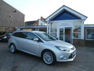 Silver Ford Focus 1.6 TI VCT 125ps 2012MY Zetec