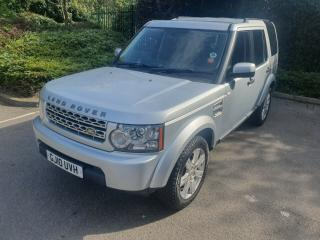 SILVER LAND ROVER DISCOVERY 4 GS 2010 3.0L TDV6 245 BHP 7 SEATER GREAT CONDITION