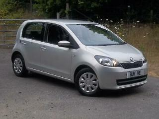 Skoda Citigo 1.0 60ps 2015MY SE, Finished in Silver leaf
