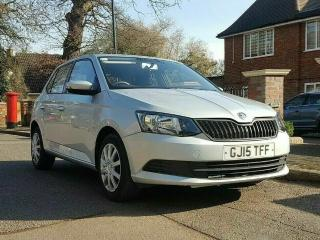 SKODA FABIA 1.0 MPI 2015 £20 TAX SKODA SH @45K BLUETOOTH STOP START