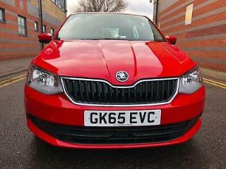 Skoda Fabia 1.4TDI s/s SE 5dr Red Euro 6 Part Ex Welcome