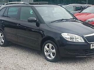 SKODA FABIA 1.6 TDI SE PLUS CR ESTATE 89 BHP