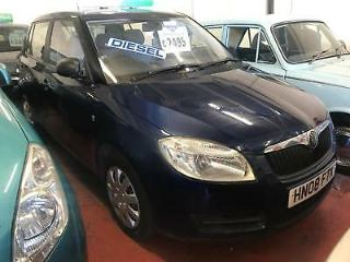 Skoda Fabia Level 1 TDi 5dr DIESEL MANUAL 2008/08