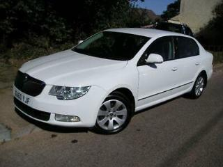 Skoda Superb 1.9TDI PD S, A/C CD Alloys, Park Sensors, Bluetooth Phone Kit