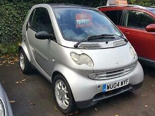 SMART CITY COUPE Softip Auto Silverpulse Silver Semi Auto Petrol, 2004