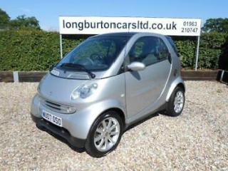 SMART CITY COUPE Softouch Auto Passion Silver Auto Petrol, 2007
