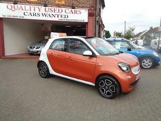 Smart forfour 1.0 70bhp s/s 2015MY Prime