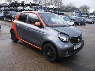 Smart forfour 1.0 Edition SALVAGE DAMAGED REPAIRABLE