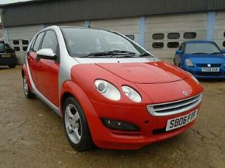 SMART FORFOUR 1.3 PASSION 5DR RED FREE 12 MONTHS MOT INCLUDED HPI CLEAR