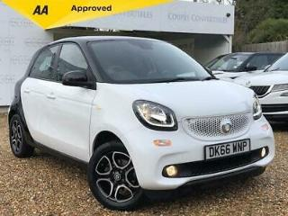 Smart Forfour Prime Premium Plus Hatchback 1.0 Automatic Petrol