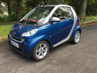 Smart fortwo 0.8cdi 54bhp Passion Deisel Automatic Sat Nav