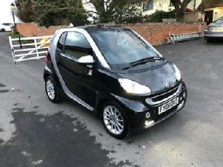 Smart fortwo 1.0 71bhp Passion AUTOMATIC FSH BLACK £20 ROAD TAX CHEAP