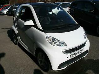 Smart fortwo 1.0 71bhp Softouch 2012MY Pulse,WHITE,25K,ALLOYS,AC,EXCELLENT
