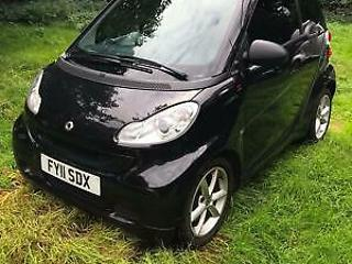 Smart fortwo 1.0mhd 71bhp Softouch 2011MY Pulse