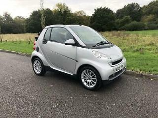 Smart ForTwo Cabrio PASSION MHD 2 Door PETROL AUTOMATIC 2009/09