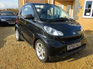 SMART FORTWO CDi Softouch Auto Pulse 2010 Auto 74000 Diesel Black Diesel