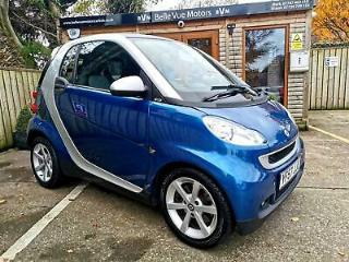 SMART FORTWO COUPE 1.0 71bhp AUTO PULSE IN BLUE