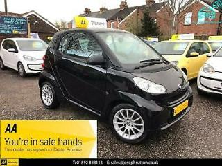SMART FORTWO mhd Softouch Auto Passion mhd 2012 Petrol Automatic in Black